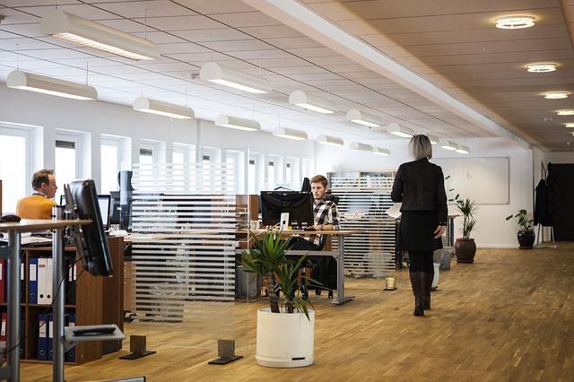Openspace w biurze